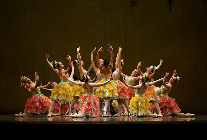 Image credit: San Francisco Ballet in Tomasson's Nutcracker (© Erik Tomasson)